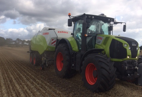 DEMO CLAAS QUADRANT 5300
