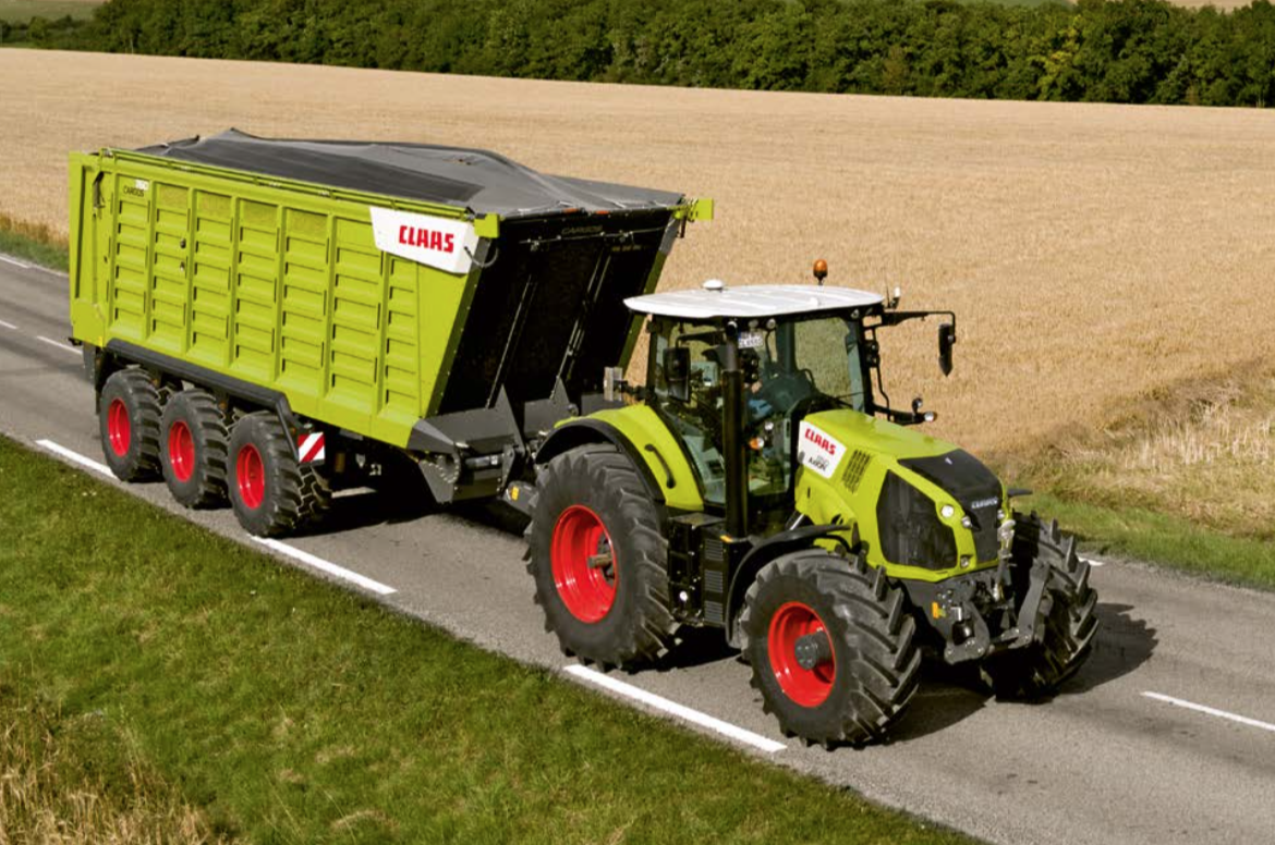 CLAAS DEMO tractores 2018