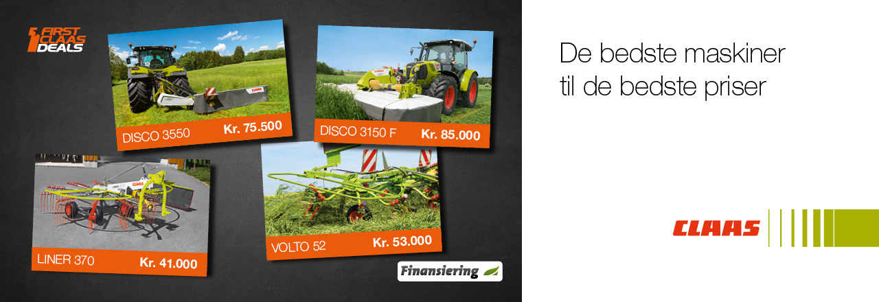 DEALS CLAASFIRST CLAAS