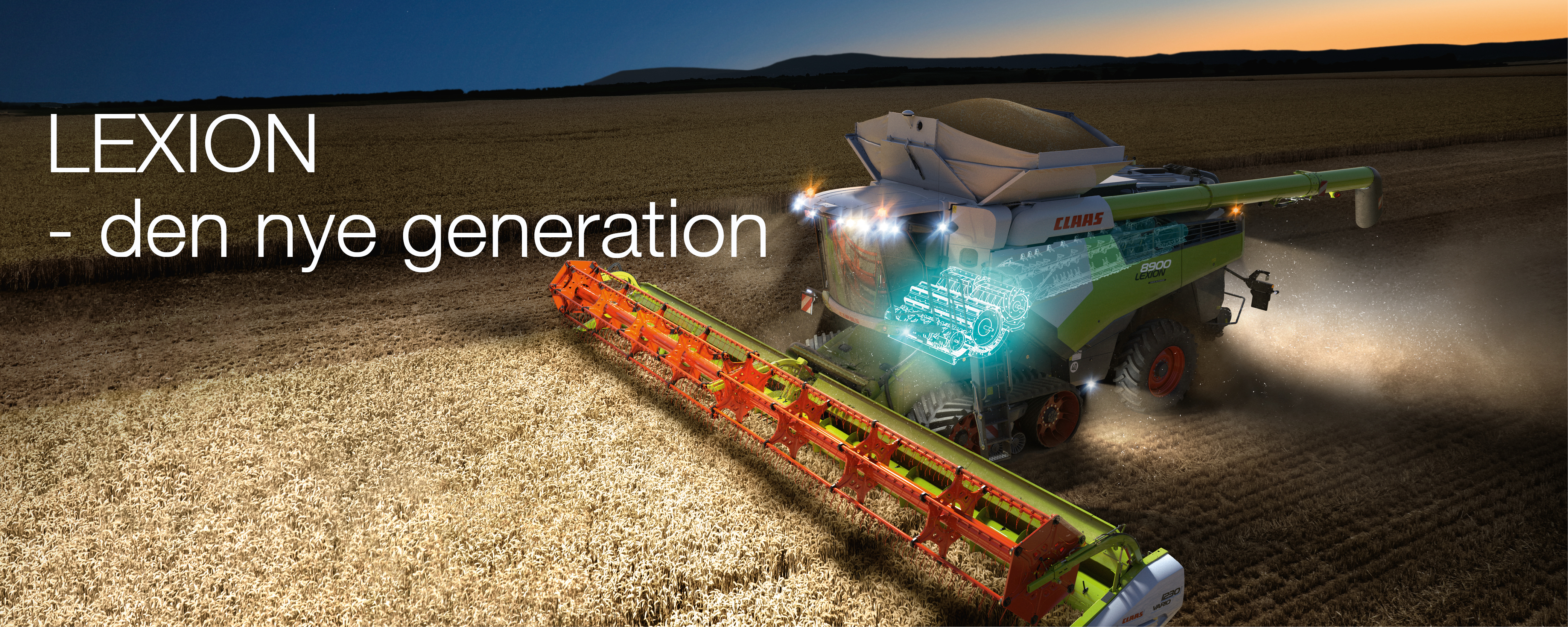 LEXION - the new generation